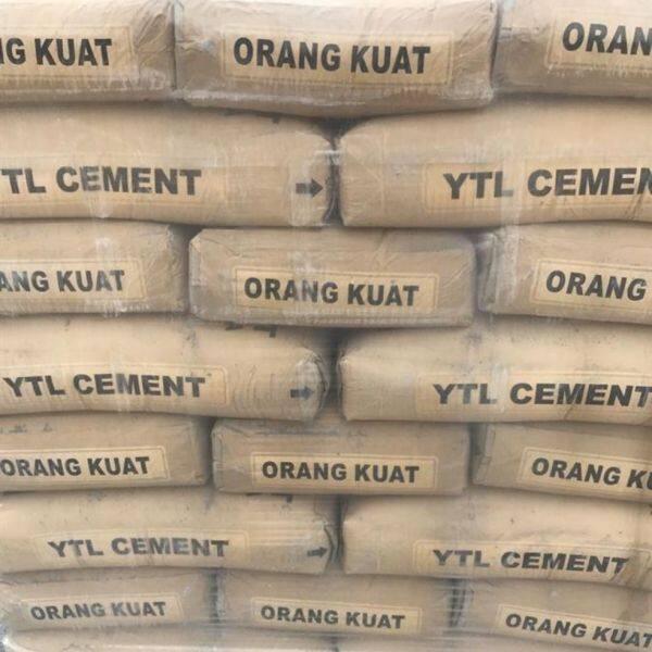 ytl cement 5kg packing