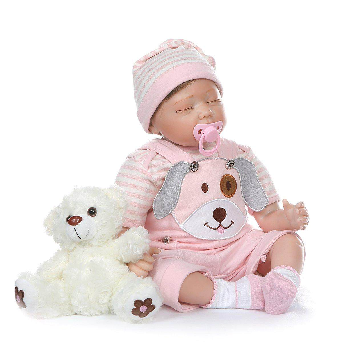 Hot Sale Simulation Doll Cloth Simulation Doll New Chemical Fiber Hair Powder Strap Dog