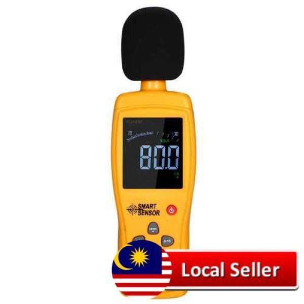 SMART SENSOR AS834+ Digital Sound Level Meter Digital Noisemeter LCD Sound Level Meter 30-130dB Noise Volume Measuring Instrument Decibel Monitoring Tester (Standard)
