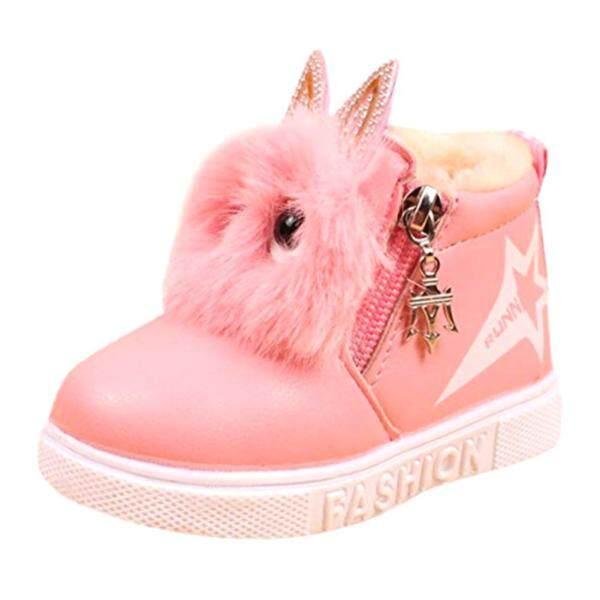 Giá bán Giày Thời Trang Cho Trẻ Em Trẻ Mới Biết Đi Trẻ Sơ Sinh Nam Nữ Giày Sneaker Ấm Cho Bé 1-12 Tuổi