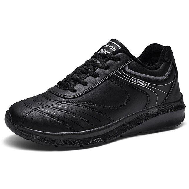 Người Đàn Ông Giày Thể Thao Giày Đi Bộ Đế Bằng Chơi Gôn Ngoài Trời Giày Chơi Gôn Thể Thao Mùa Đông Lưới Giữ Ấm Kích Thước Lớn 39-48 Người Đàn Ông Mềm Của Giải Trí Giày giá rẻ
