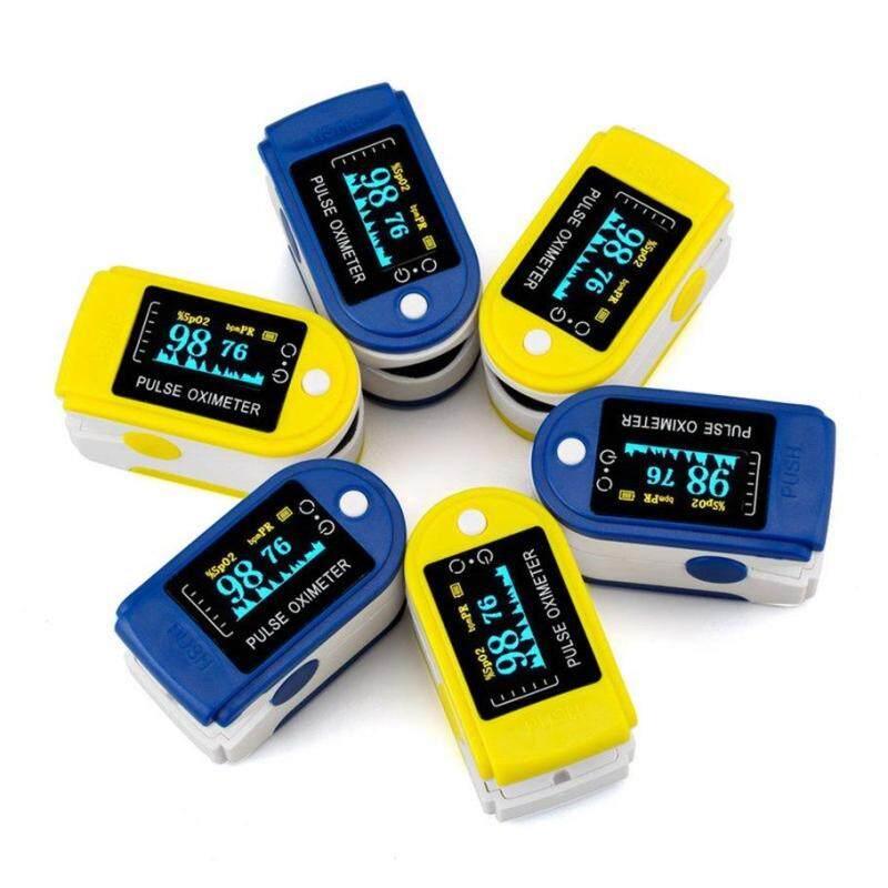 Bán Chạy nhất Ngón Tay Pulse Oximeter SPO2 Theo Dõi Oxy Trong Máu Xung Đồng Hồ Đo Nhịp Tim bán chạy