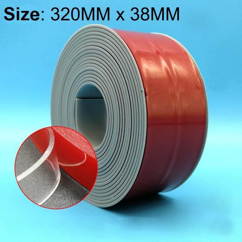NHỰA PVC Bếp và Phòng Tắm Chống Thấm Nước và Chống Mốc Băng Kích Thước: 38mm x 3.2 m (Xám)