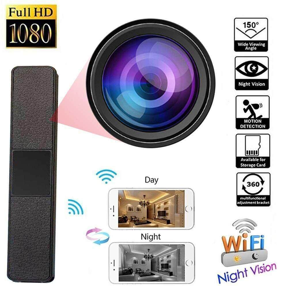 Chux Wireless Wifi hidden Clothes Camera HD 1080P rack IR Night Vision DVR Support 32GB TF