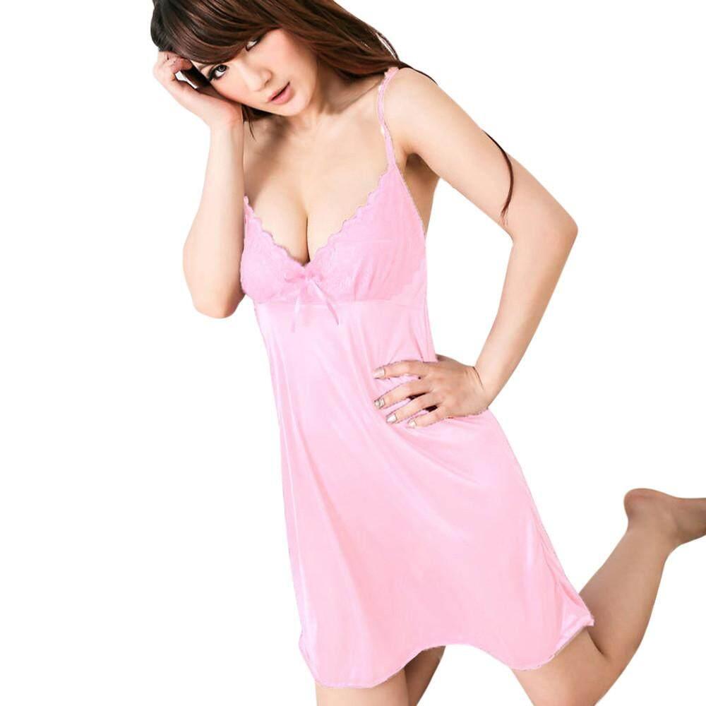 99accec6579 Lawsonshop Fashion Women Look out Club wear Dress Siamese Underwear Night  Dress Free shipping