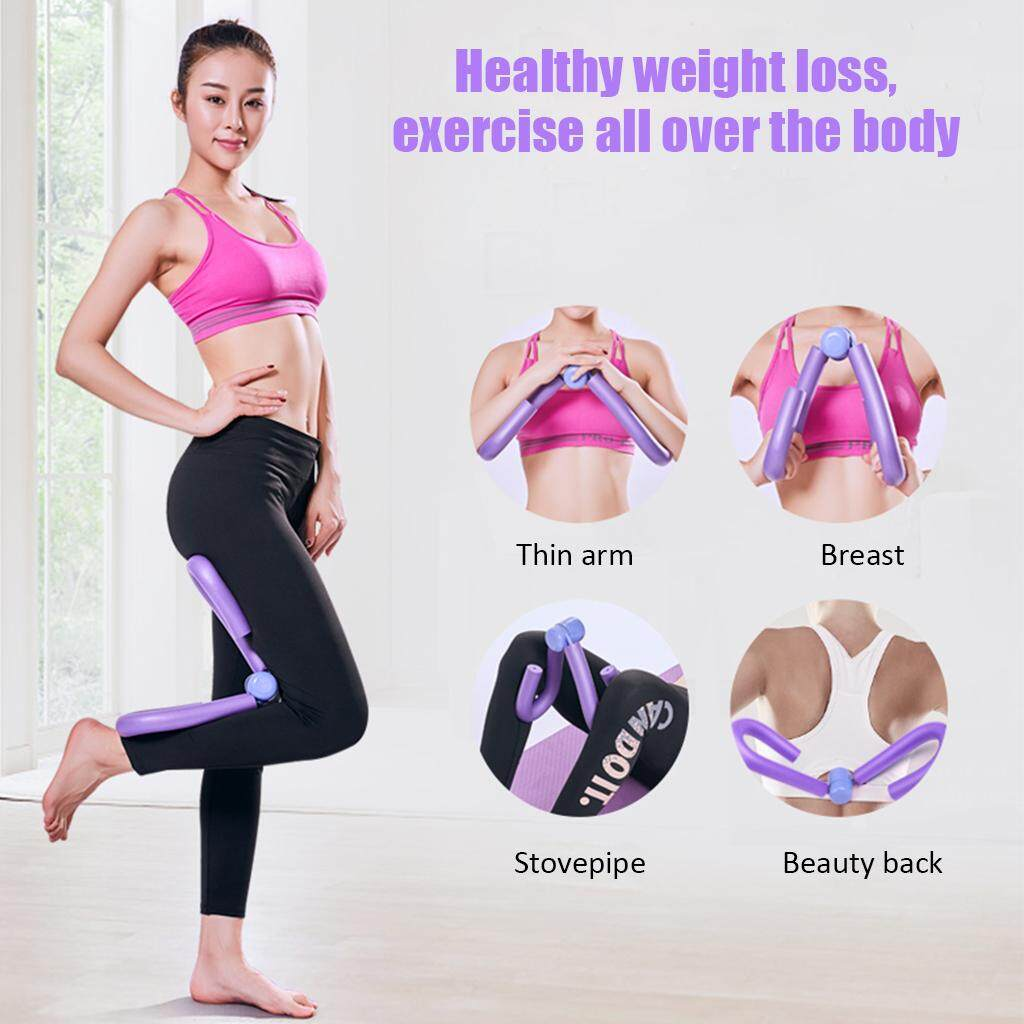 Gym Leg Thigh Slimming Muscle Toner Exerciser Fitness Workout Exercise Equipment