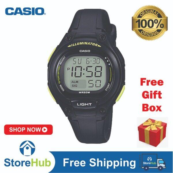 GET IT NOW! CASIO Standard LW-203-1BVDF Kids Ladies LED Backlight Sports Digital Watch Malaysia