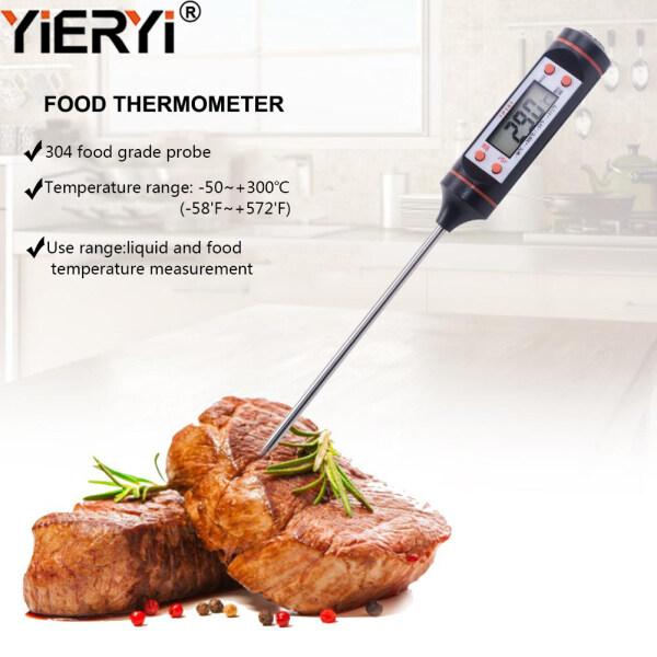 yieryi Digital Kitchen Thermometer BBQ Food Temperature Measurement Kitchen Tools