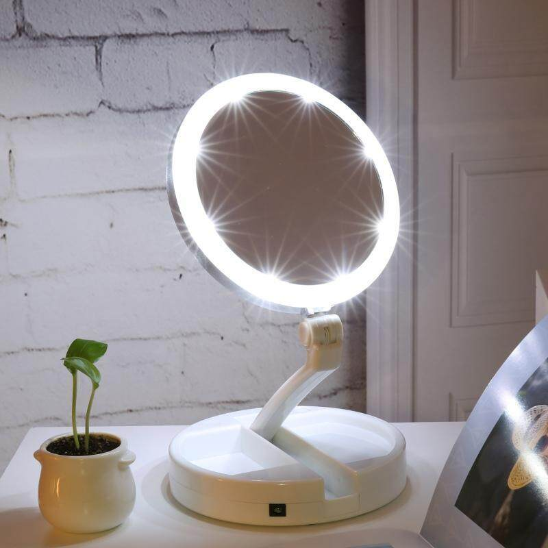 Vanity Mirror Lights Double Sided Led Lighted Makeup Mirror
