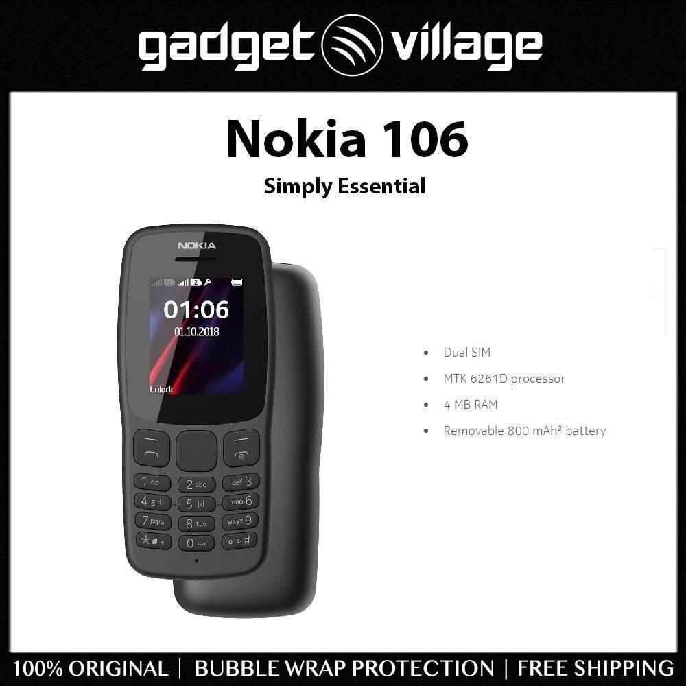Nokia 106 - Official Nokia Malaysia Warranty