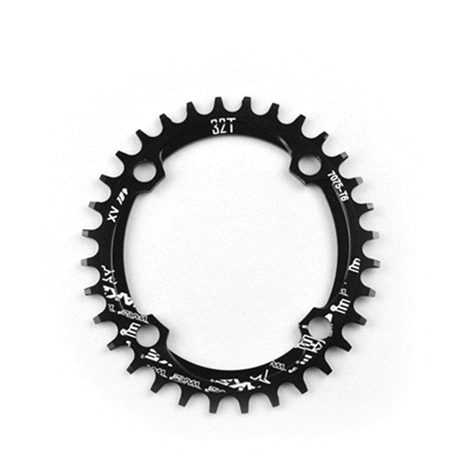 Elec Bike Narrow Wide Oval Chainwheel Chain Ring 104mm Bcd Crank 32t 34t 36t 38t Cnc Aluminium Alloy Chain Ring For Mtb Bike By Electron3c.