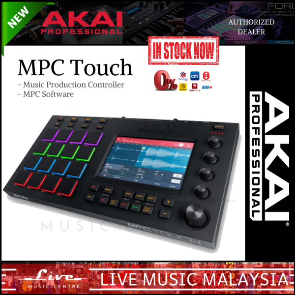 Akai Professional MPC Touch - Multi-Touch Music Production Center Malaysia
