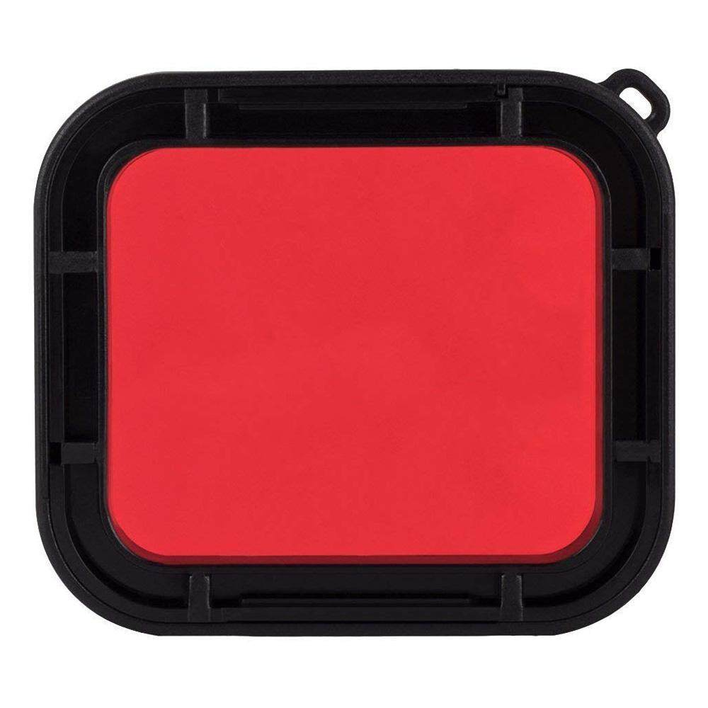 Auoker Action Camera Filter- Waterproof Housing Shell Red Filter For GoPro Hero 7 Diving Protective