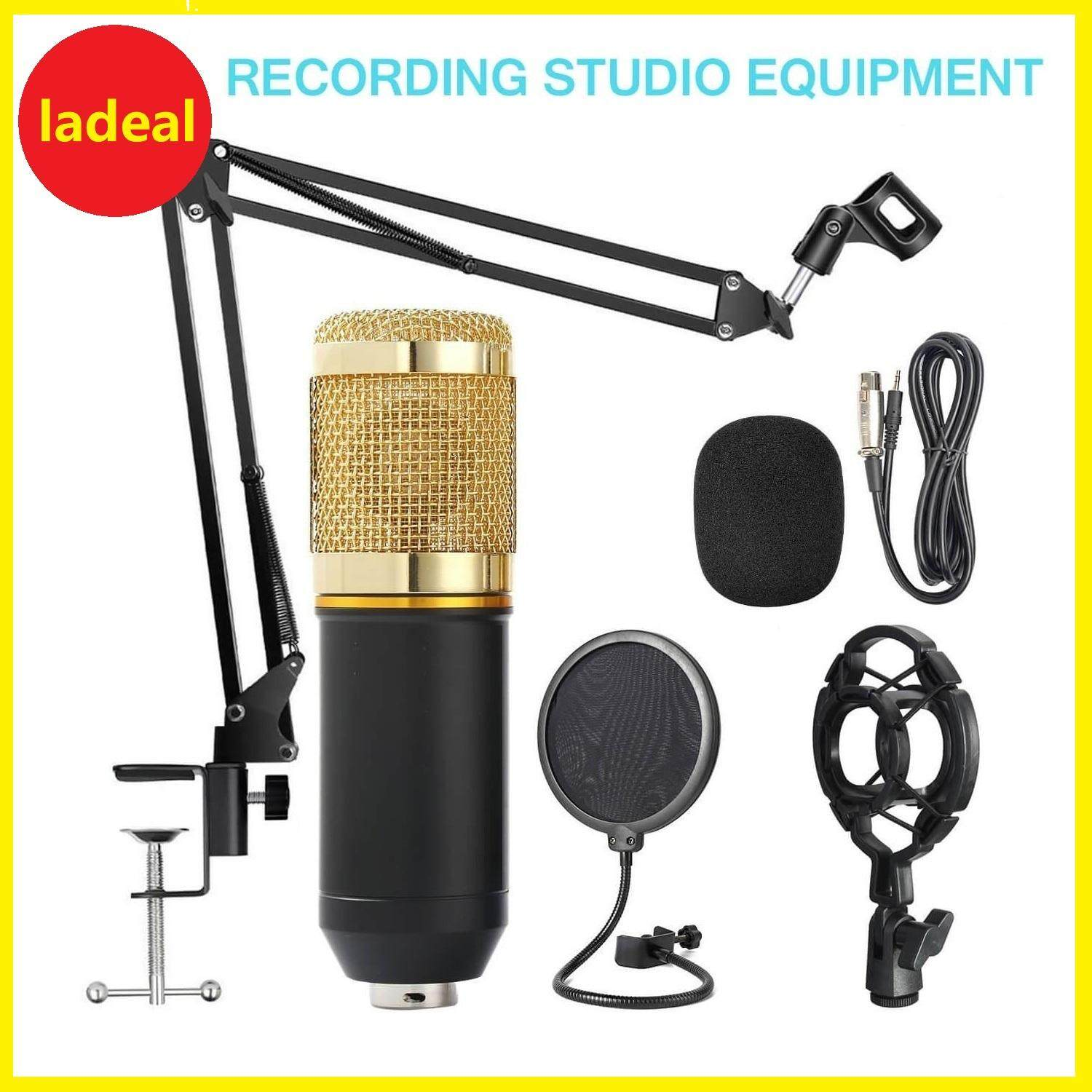 Professional Condenser Studio Microphone (display Model, Ships From Malaysia) By Ladeal.