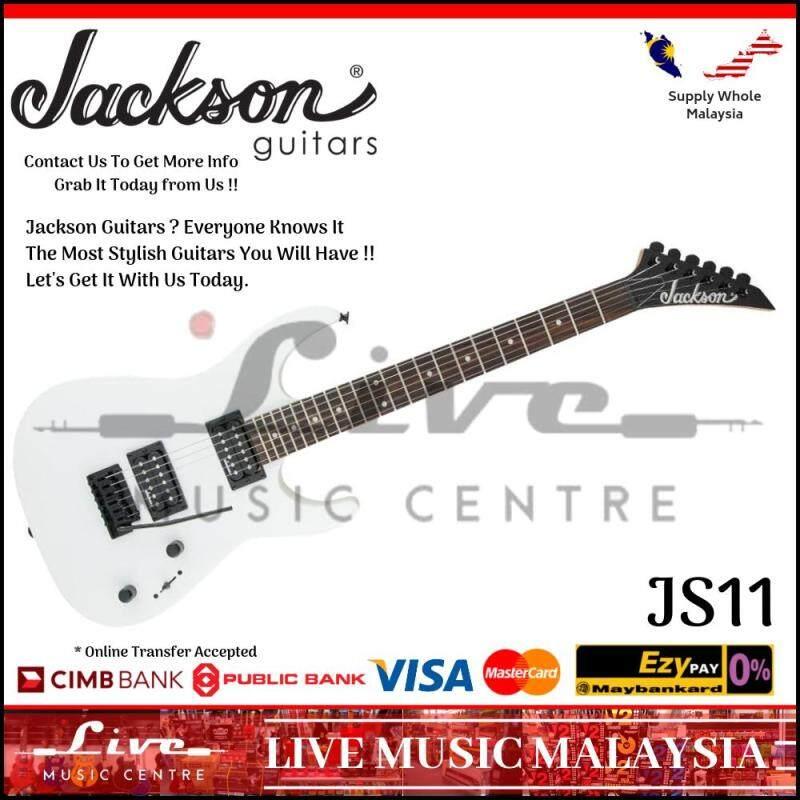 Jackson JS-11 Dinky Electric Guitar, 22-Fret, Gloss White (JS11/JS 11) Malaysia