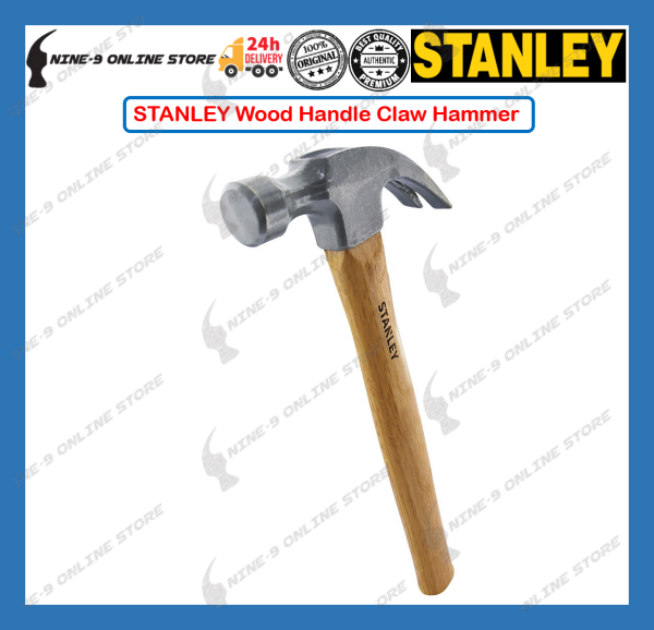 STANLEY STHT 51-339 Wood Handle Claw Hammer