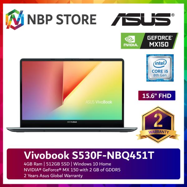 Asus Vivobook S530F-NBQ451T 15.6  FHD Laptop Firmament Green ( i5-8265U, 4GB, 512GB SSD, MX150 2GB, W10 ) Malaysia