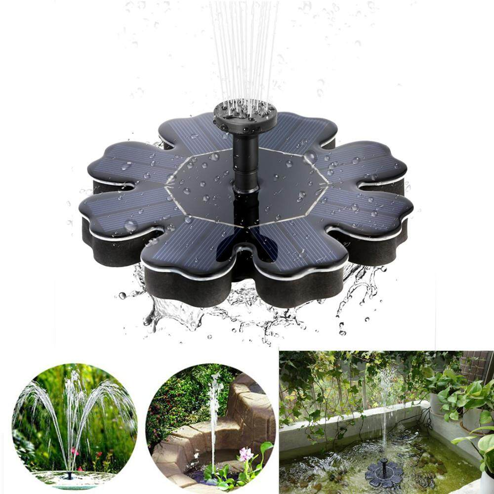 RD Petal Shaped Solar Water Fountain for Landscape Decoration