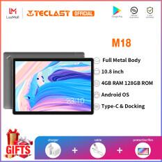 Máy Tính Bảng Teclast M18 Android, Máy Tính Bảng IPS 10.8 Inch 2560 × 1600 Độ Phân Giải 4GB RAM 128GB ROM 13MP Phía Sau 5MP Gọi Điện Thoại Mạng 4G Phía Trước
