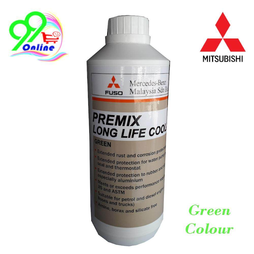 Mitsubishi Premix Long Life Coolant ( 1L ) ( Green )