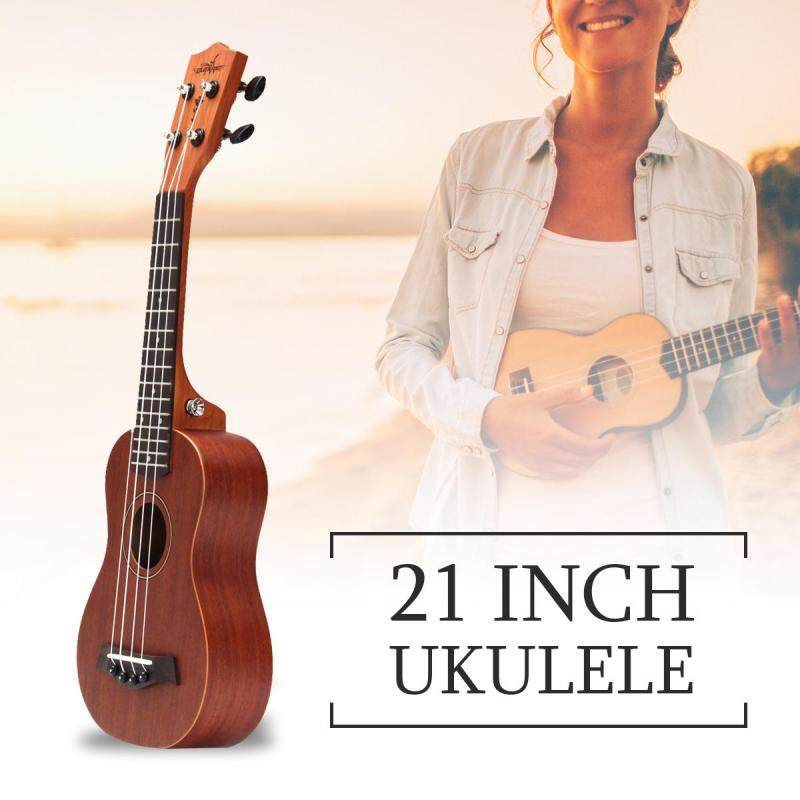 21 15 Frets 4 Strings Concert Ukulele Electric Acoustic Bass Guitar For Musical Stringed Instruments Lovers - Malaysia