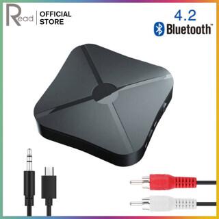 Đọc Bộ Thu Âm Thanh Bluetooth 4.2 Không Dây Chế Độ 2 Trong 1 Bộ Chuyển Đổi Bộ Chuyển Đổi Âm Thanh Nổi Bluetooth Với 3. Âm Thanh AUX 5MM Dành Cho Loa Máy Tính MP3 Gia Đình Xe Hơi thumbnail