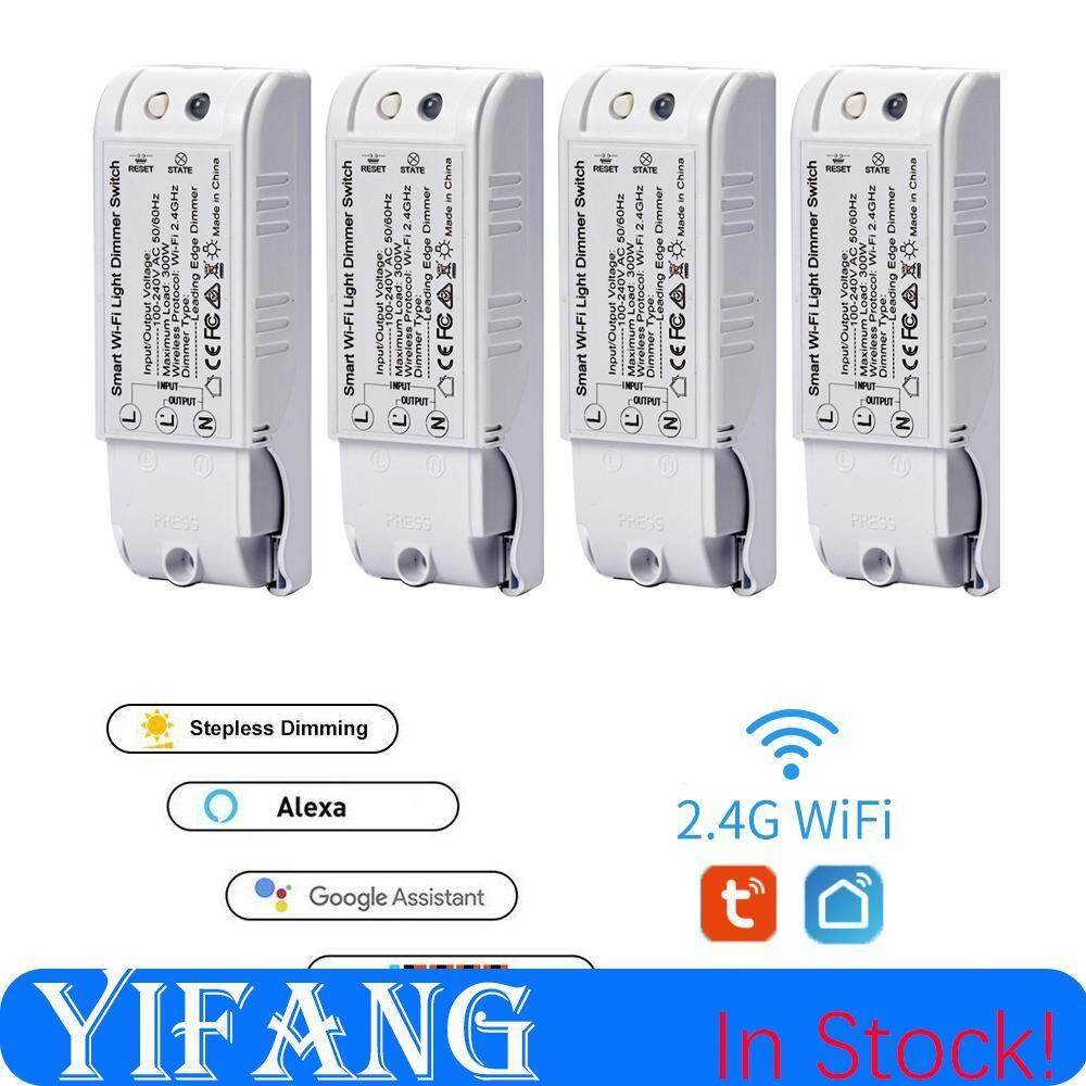 YIFANG Smart Diy Dimming Module Light Switch Wireless Controller Wifi  Dimming 110-240V Support Tuya/Smart life App Popular Products