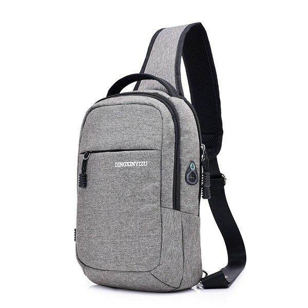 2019 New Mens Travel Small Chest Bag Casual Sling Single Shoulder Bags Fashion Travel Crossbody Bag Man Male school Hobos Bag