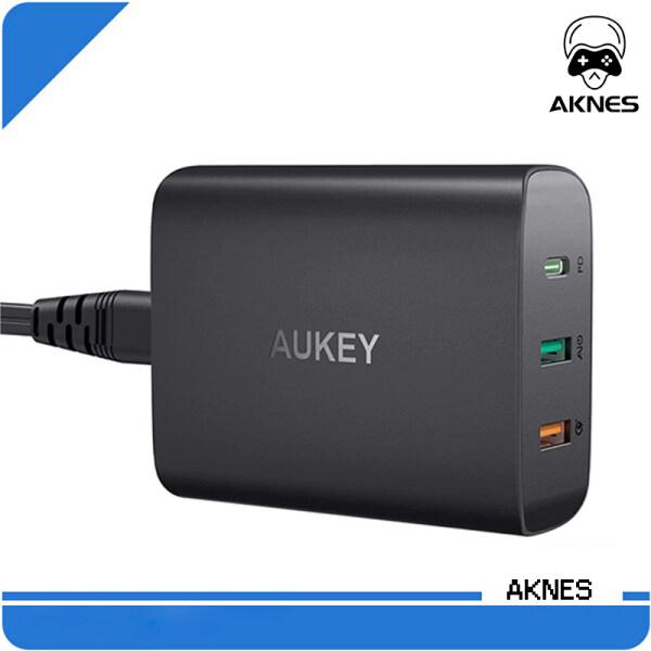 [Cửa Hàng Chính Thức] PA-Y13 Aukey 74.5W USB C Power Delivery 3.0 & Sạc Máy Tính Để Bàn QC 3.0 Cho MacBook Pro Air, iPad Pro, iPhone SE / 11/11 Pro, samsung Galaxy S20 Ultra / Note10 +