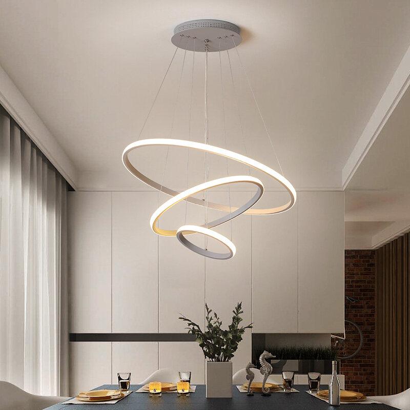 Lampu Gantung Dalam Ruangan, Lampu Gantung LED Modern Ruang Tamu Ruang Makan Kamar Tidur