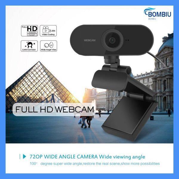 Bảng giá Bombiu 【Cổng S Readn Sàng】 1080P Webcam Tự Động Lấy Nét Micrô Tích Hợp Cuộc Gọi Video Cao Cấp Camera Thiết Bị Ngoại Vi Cho Máy Tính Camera Web Cho Máy Tính Xách Tay Phong Vũ