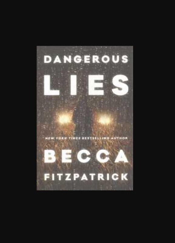 BORDERS Dangerous Lies by Becca Fitzpatrick Malaysia