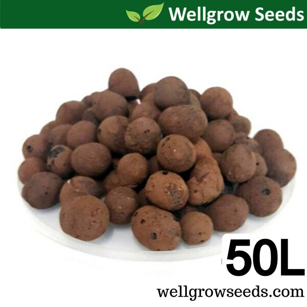 50L LECA Coarse 20-40mm (≈17kg) (Clay Pebbles / Clay Balls / Hydroton) 陶粒(细)  for Hydroponics & Aquaponics / Mulching Use