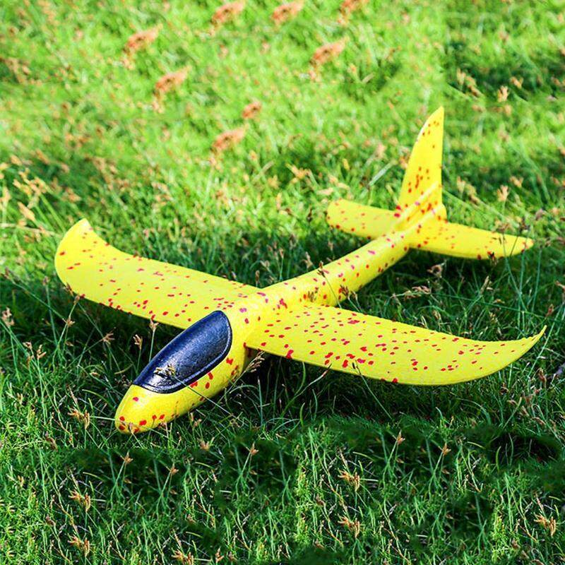 48cm Epp Foam Hand Throw Airplane Outdoor Launch Glider Plane Kids Toys Gift By Blessing From China.