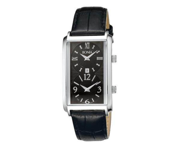 Bonia Men Watch Quartz BNB10018-1339 Genuine Leather Strap Watch Malaysia