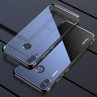 Dành Cho Huawei Honor 10 Lite HRY-LX1 Ốp Nhựa TPU Dẻo Mềm LX2 LX1MEB, Tinh Thể Rõ Ràng Trở Lại Ốp Điện Thoại Viền Kim Loại Sang Trọng thumbnail