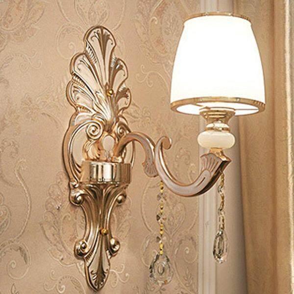 Hot Deals Led Crystal Wall Light For Bedroom Living Room Hotel Villa Decoration B023