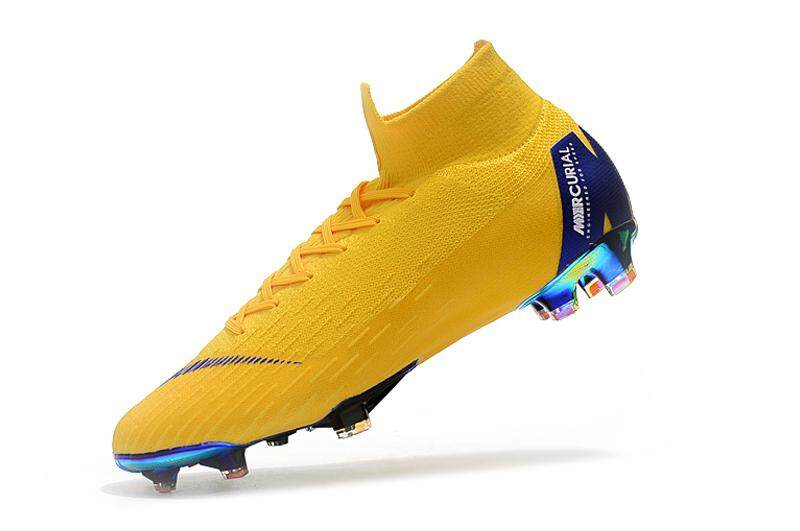 0858d2a20 High Ankle Football Boots Superfly Original Fly Knit 360 Elite Fg Mens Soccer  Shoes Vi 12