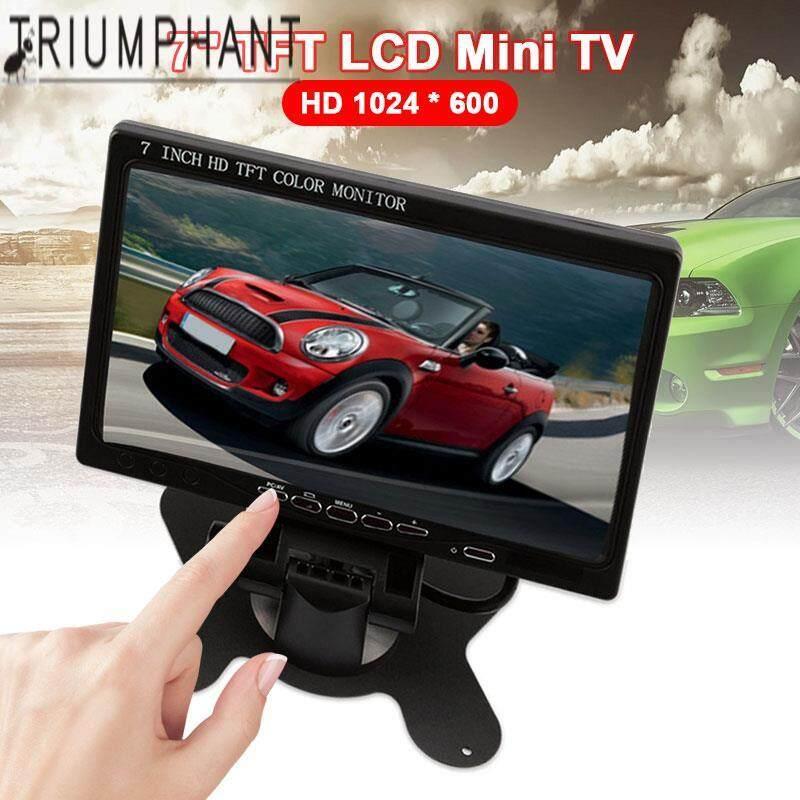 Triumphant Reversing Car Monitor Tv Portable Ultra Thin New Backup Camera Digital Tv Car Accessories Mini Tv 800*480 7inch Tft Lcd Screen Hdmi/vga/av Rearview Backup Camera By Triumphant.