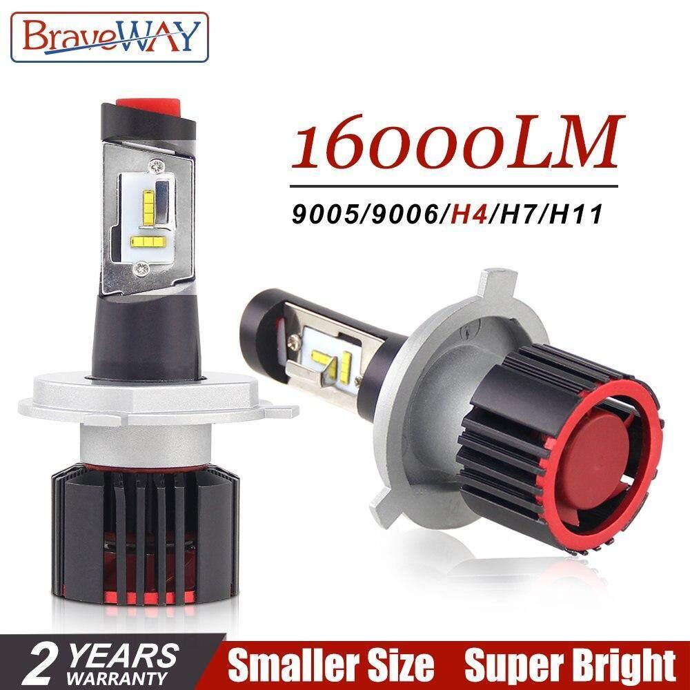 100w Hb4 12v Led H4 Lamps For Headlight Dhkj Chip Canbus H7 Turbo Light Braveway Cars H11 16000lm Hb3 Store H8 Csp Bulbs m8n0Nw