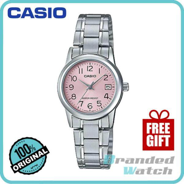 Casio LTP-V002D-4BUDF Womens Quartz Analog Date Steel Watch LTP-V002D-4B Malaysia