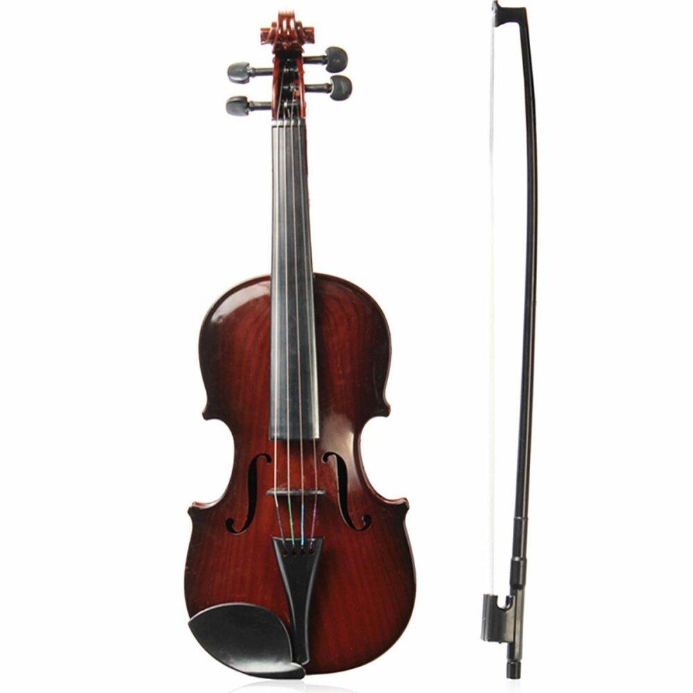 Có thể điều chỉnh Dây Âm Nhạc Mới Bắt Đầu Trẻ Em Nhạc Cụ Mô Phỏng Vĩ Cầm Thực Hành
