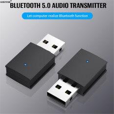 KEBETEME USB Bluetooth 5.0 Transmitter Adapter Không Dây Bluetooth Âm Nhạc Âm Thanh Transmitter Đối Với Tai Nghe Loa PC Máy Tính Xách Tay