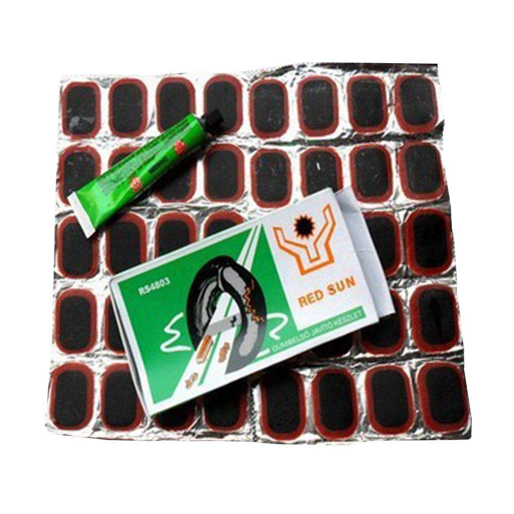 Rema Tip Top Bike Repair Kit Rubber Solution Fix Tool For Round Tyre All Bicycle