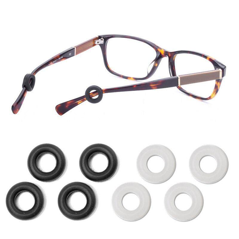 e6fd3822ca99 10 Pairs Soft Silicone Eyeglasses Temple Tips Sleeve Retainer for Sport