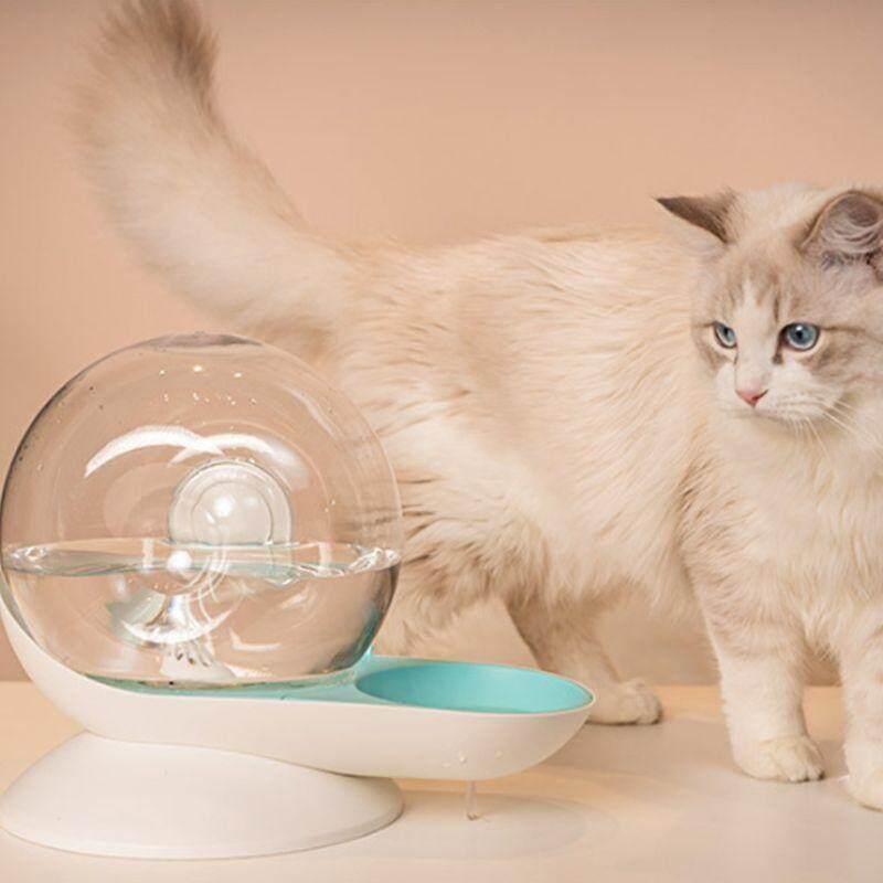 Hình Xoắn Ốc Waterer Trung Chuyển Chó Thú Cưng Tự Động Uống Nước Nóng Lạnh Cho Mèo/Chó Chống Trượt 2.8L