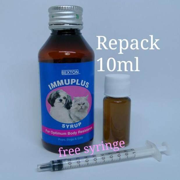 Immuplus Immune Booster Haiwanrepack 10ml [ Free Syringe ] By Fadfelinefamily.