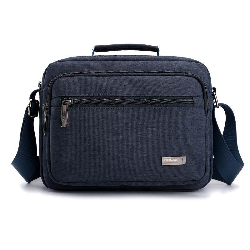 Oxford cloth waterproof mens bag shoulder bag casual small backpack mens small bag business slung mens bag shoulder bag