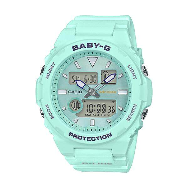[BEST]Casio Baby-G G-LIDE Sport Lineup Womens Mint Green Resin Strap Watch BAX100-3A BAX-100-3A (jam tangan wanita / casio watch / casio watch women) Malaysia