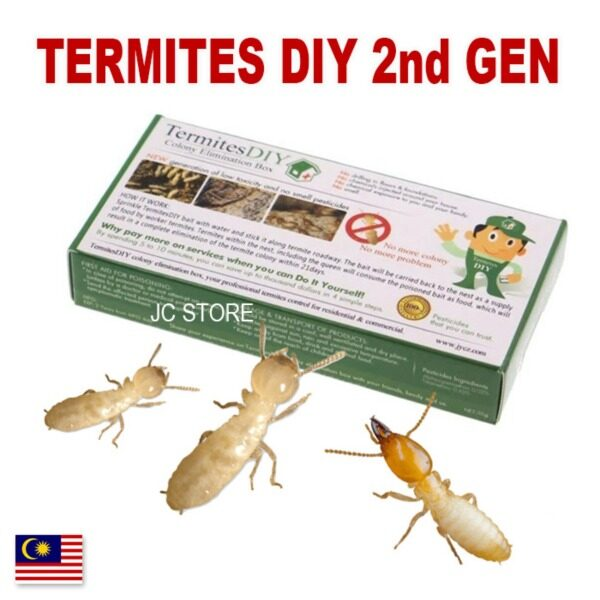 Original TermitesDIY Termite Killer Termites DIY 2nd Generation DIY Colony Elimination Baiting Bait Box